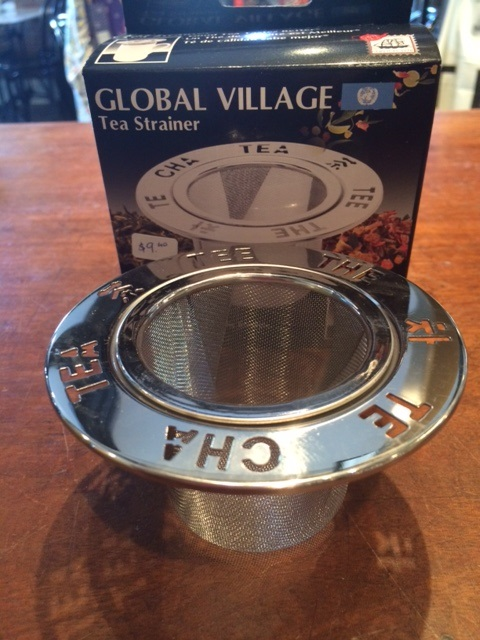 Global Village Tea Strainer  Best Organic Single Origin Coffee Bean