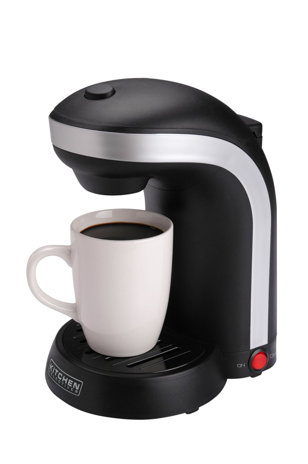 Coffee Maker For One : Best Organic Single Origin Coffee Bean Black Single Cup Coffee Maker