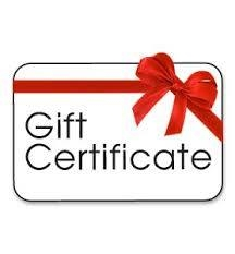 Gift Certificate  Best Organic Single Origin Coffee Bean