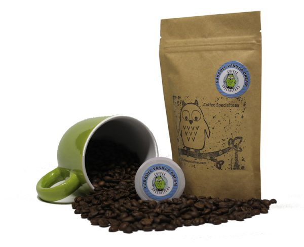 Best Organic Single Origin Coffee Bean | Caramel Vanilla Dream