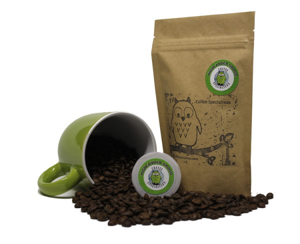 Best Organic Single Origin Coffee Bean | Highlander Grogg