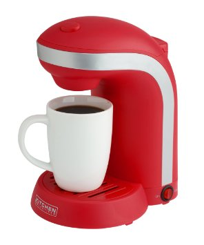 Red-Single-Cup-Coffee-Maker 1 Cup Coffee Maker - Red
